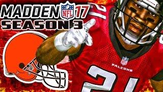 Madden 17 Franchise Mode Year 3 Week 8 - Atlanta Falcons vs Cleveland Browns
