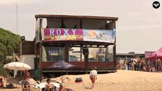 Roxy Surf Jam 2015, Honu Beach, MDQ  Segundo día final