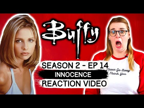 BUFFY THE VAMPIRE SLAYER - SEASON 2 EPISODE 14 INNOCENCE (1998) REACTION VIDEO! FIRST TIME WATCHING!