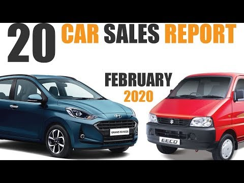 Top 20 Selling Cars In February 2020 | Highest Sales (Explain In Hindi)