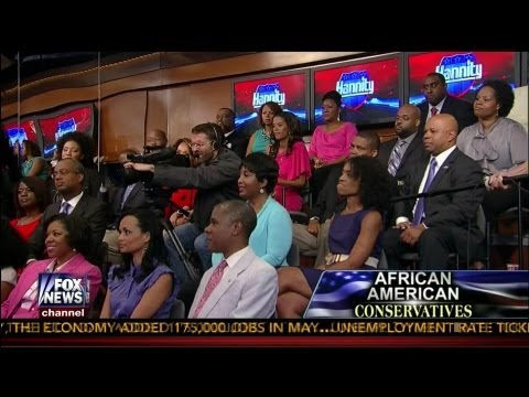 African American Conservatives Townhall - COMPLETE - Sean Hannity - Fox News - 6-21-13