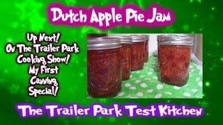 Dutch Apple Pie Jam : Canning Tutorial