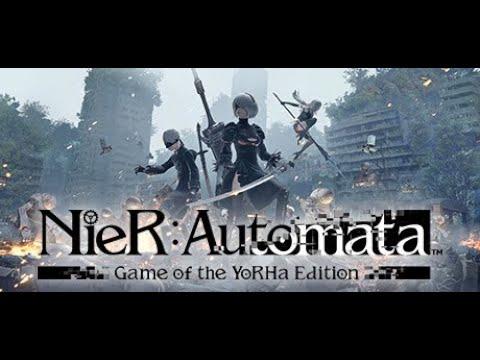 Nier Automata (PC) Normal Mode Playthrough  Part 1