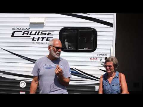 "The Valcarcel's are ""Really Happy""! Forest River Dealer Review"