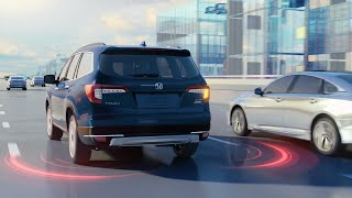 homepage tile video photo for Honda Pilot – Blind Spot Information System