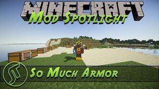 Minecraft Mod - So Much Armor Mod 1.7.10!