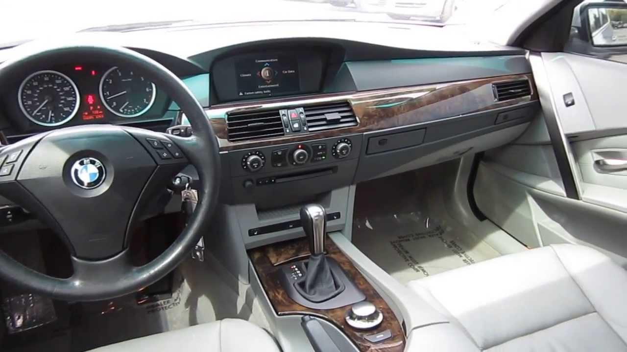 2004 BMW 530i, Silver - STOCK# L059587 - Interior - YouTube