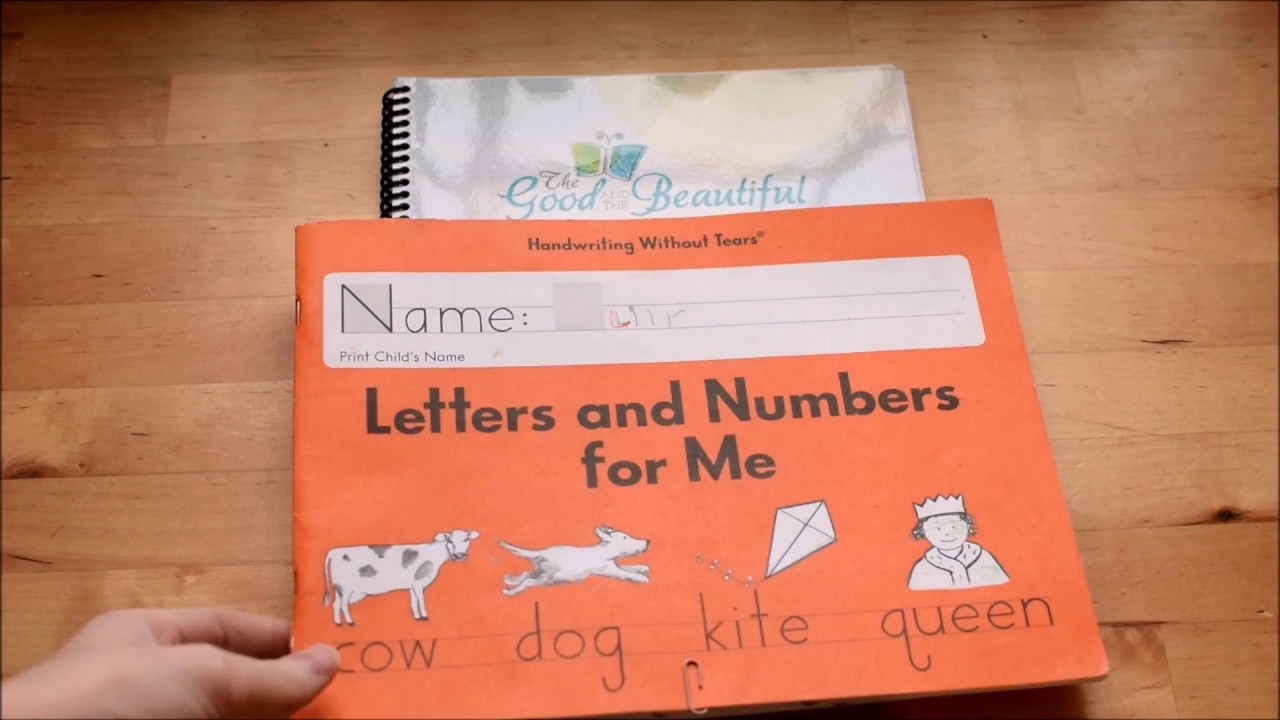 Handwriting Without Tears and The Good and the Beautiful Handwriting Review
