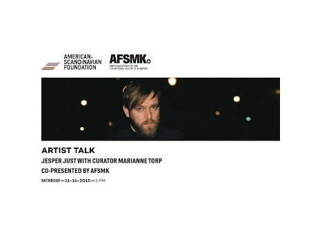 Artist Talk: Jesper Just with Curator Marianne Torp