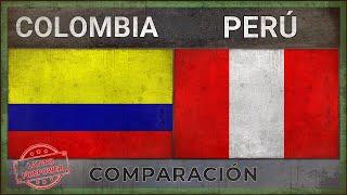 COLOMBIA vs PERÚ ✪ Poder Militar Comparación [2018]