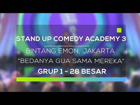 Stand Up Comedy Academy 3 : Bintang Emon, Jakarta - Bedanya Gua Sama Mereka