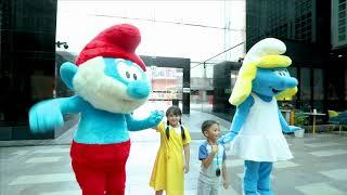 Meet & Greet Papa Smurf & Smurfette at City Walk