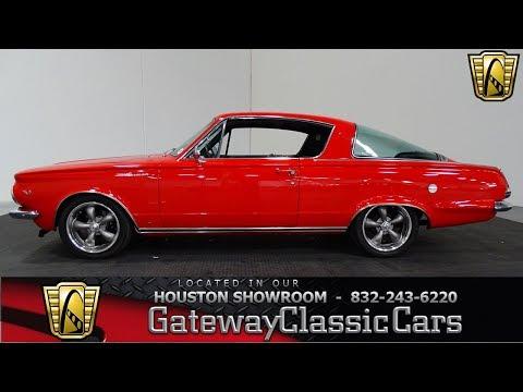 1964 Plymouth Barracuda Gateway Classic Cars #992 Houston Showroom