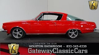 1964 Plymouth Barracuda Gateway Classic Cars #992 Houston Showroom