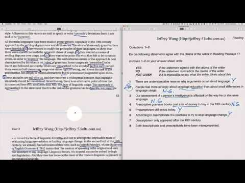 IELTS Book 9 – Reading Test 3 - YouTube