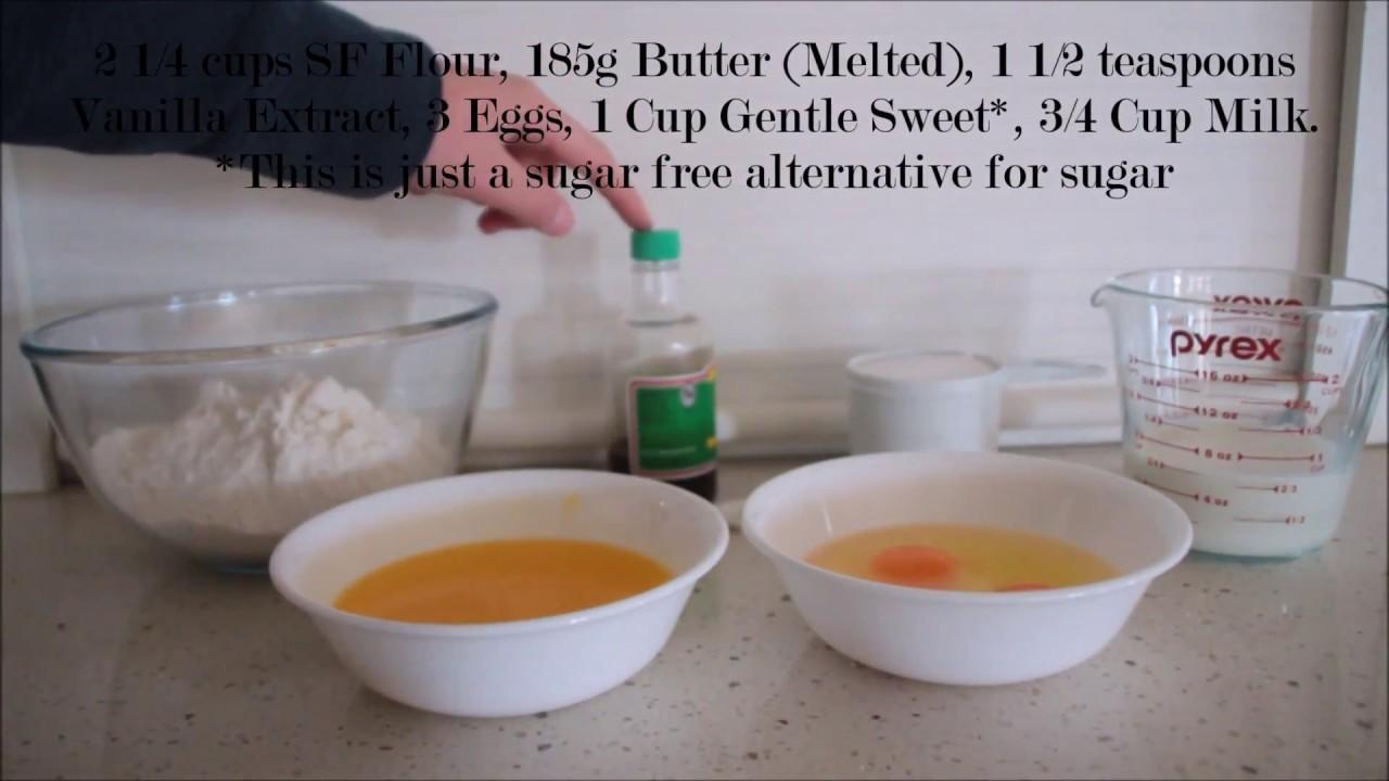 Sugar free butter cake recipe