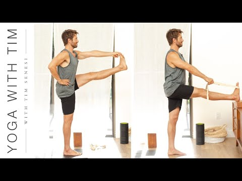 How To: Extended Hand to Big Toe Pose Utthita Hasta Padangusthasana | Yoga With Tim