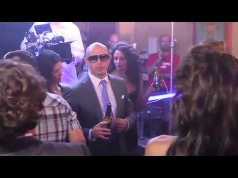 Universal Casting Bud Light and Pitbull Commercial (behind the scenes!)