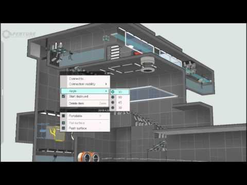 Portal 2 Map Building Timelapse