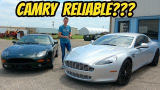 Both Of My Cheap Aston Martin Cars Have Been Too Reliable, And I Have No Idea Why