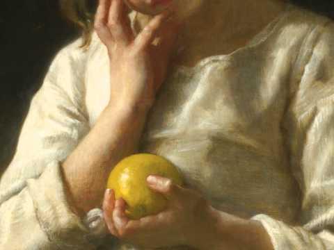 William Adolphe Bouguereau - Childhood (♪Lisa Gerrard)