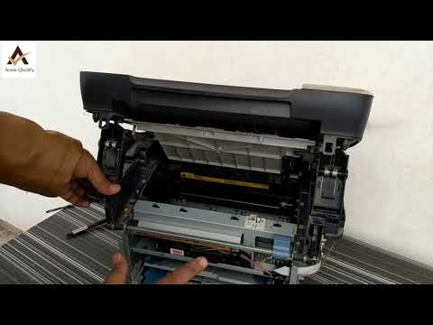 Clean Laser Jet Unit of HP | Cannon | Fade Print fix | Lite Print Fix | Printer Open Door Error