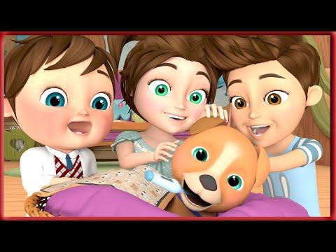 Bingo Dog Song - Banana Cartoon Nursery Rhymes With Lyrics   Cartoon Animation for Children [HD]