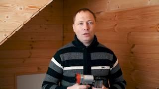 видео Как отделать мансарду внутри: инструменты и материалы