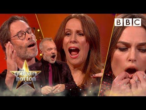 Graham's guests hilarious party tricks! 🎉😂 - BBC