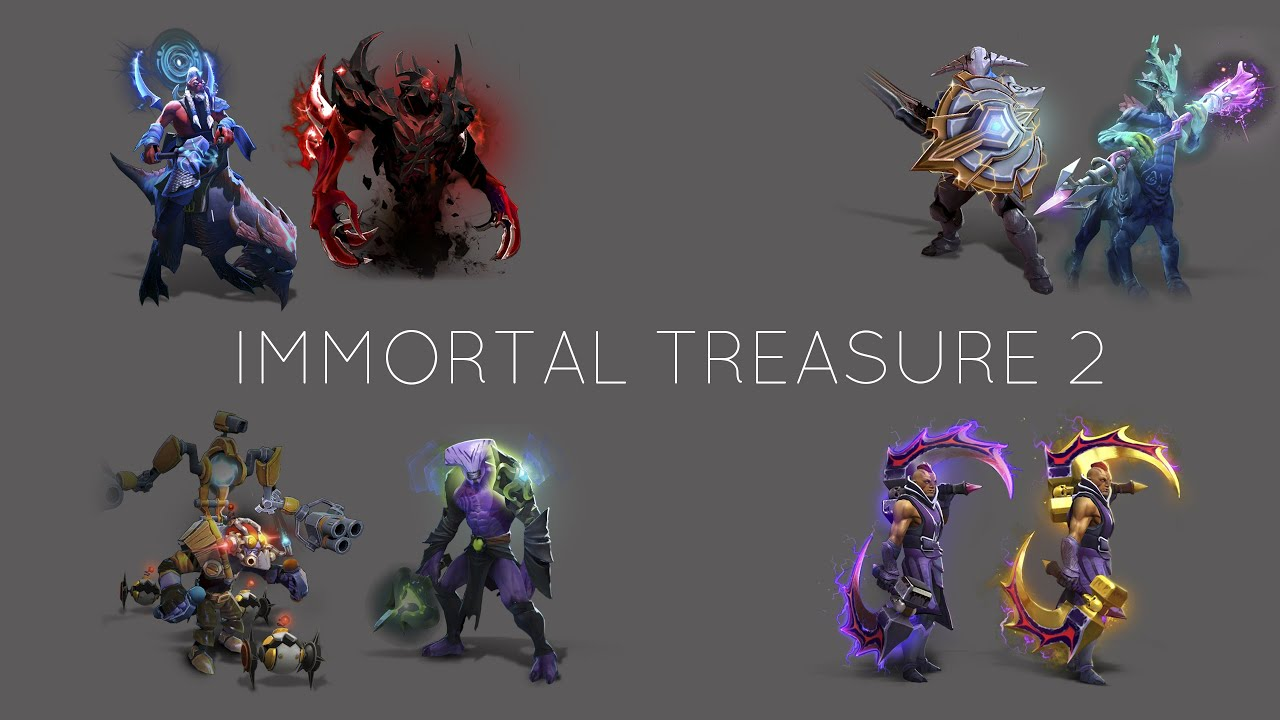 Dota 2 Immortal 12: DOTA 2 TI5 IMMORTAL TREASURE 2