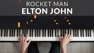 Elton John - Rocket Man | Tutorial of my Piano Cover