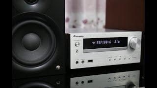 Dàn mini tích hợp Bluetooth và USB cực tiện - Pioneer X-HM51