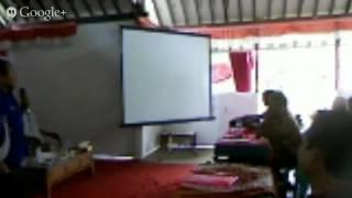 Sesi 1 Pelatihan Kelembagaan Desa