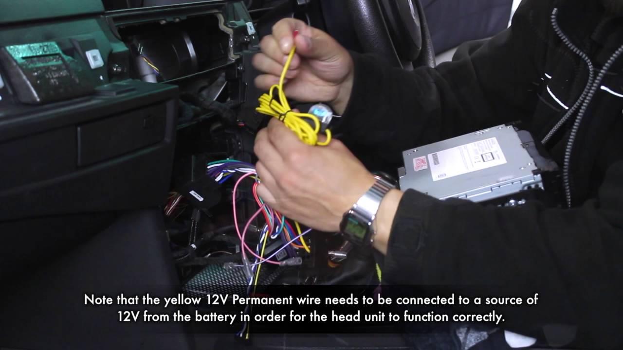 Bmw 5 Series 2006 Integration Kit Youtube Wiring Diagram Radio Head Unit Install Kenwood Car Stereo