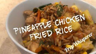 Pineapple Chicken Fried Rice - 4 SmartPoints
