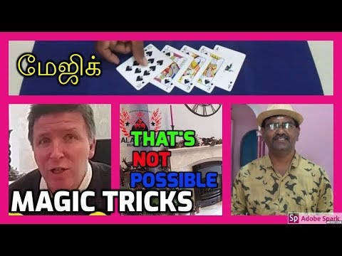 ONLINE TAMIL MAGIC I ONLINE MAGIC TRICKS TAMIL #610 I THAT'S NOT POSSIBLE