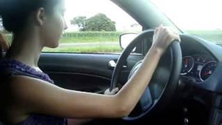 Dirigindo na estrada pela primeira vez