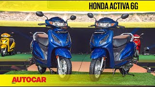 Honda Activa 6G Walkaround | First Look | Autocar India