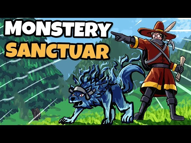 Terraria + Pokemon? Capture e Treine Monstros! (Monster Sanctuary)