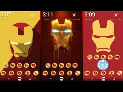 Personalización Iron-Man Para Android