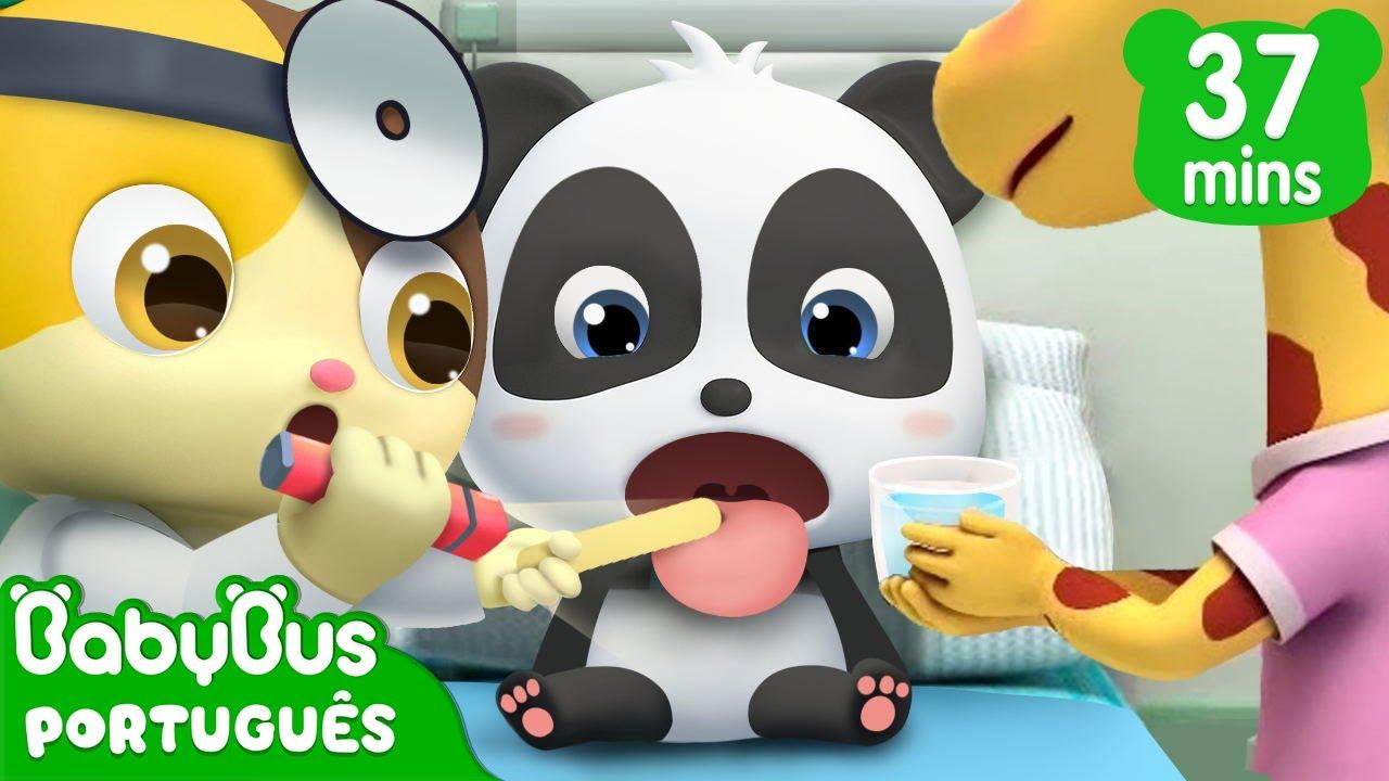 Panda Kiki Não Quiser Ir ao Hospital | Kiki e Seu Amigos | Desenhos Infantis | BabyBus Português