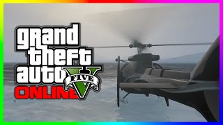 GTA 5 Quick Tip - How To Float On Water In A Helicopter! (GTA V)