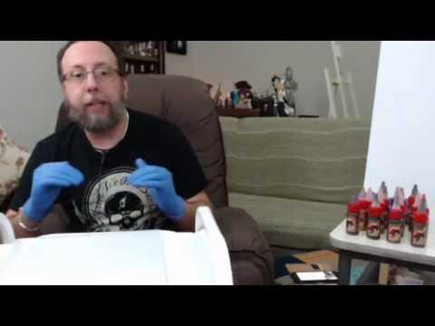 Como usar pigmentos Iron Works parte 2 com Prof Léo Calheiros