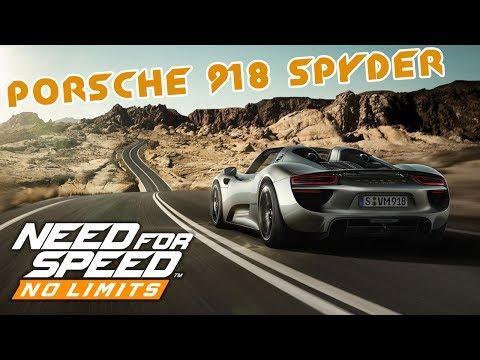Need for Speed: No Limits - Porsche 918 Spyder (ios) #51
