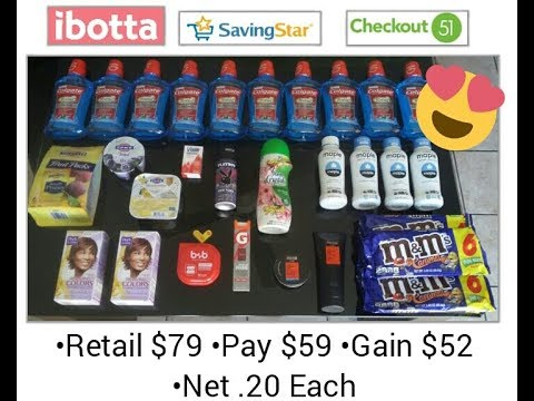 Ibotta Stackable #3 May 21 ($79 Retail for $7)