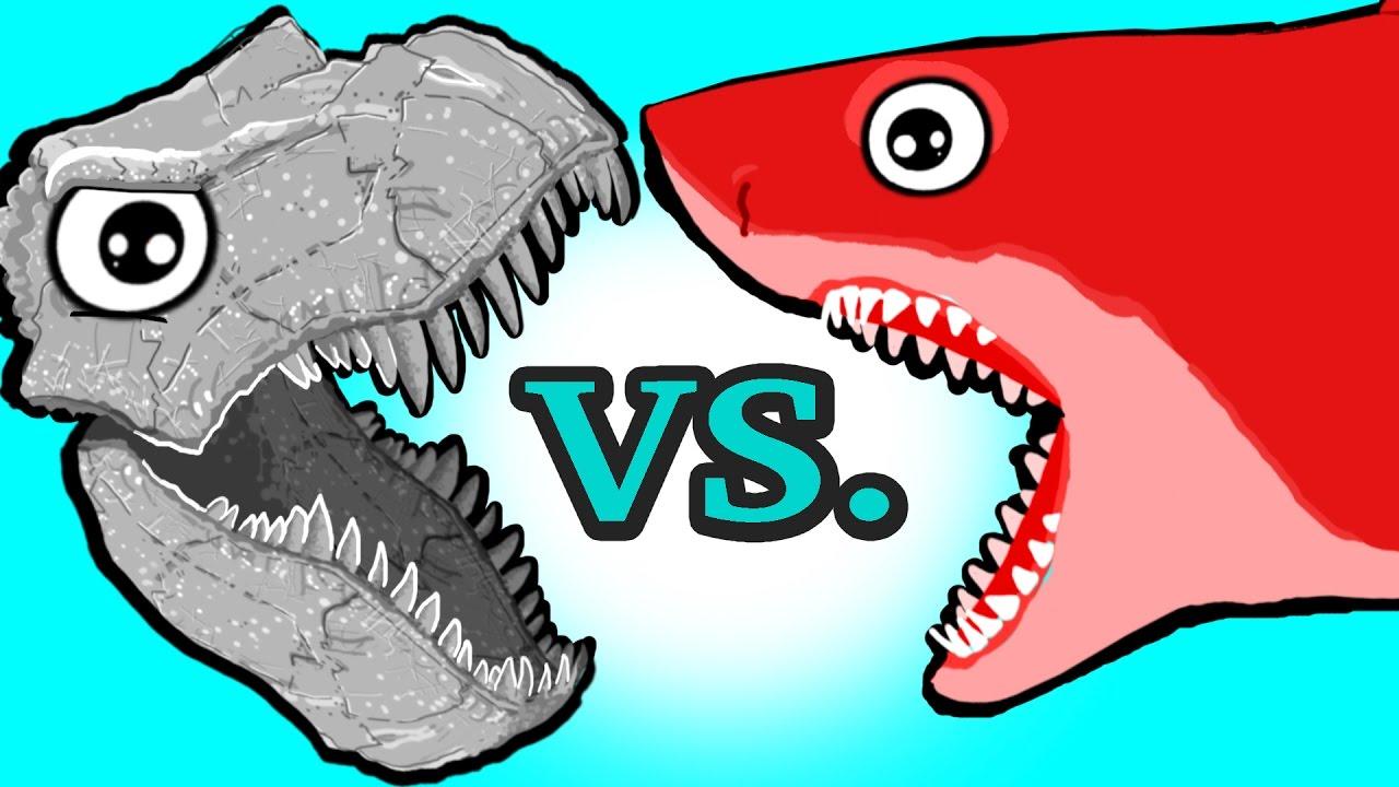 Shark Toys For Boys And Dinosaurs : Mini toys my cute shark attack cartoon dino vs