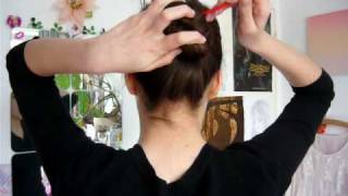 How to: hairsticks (+ bun demo)