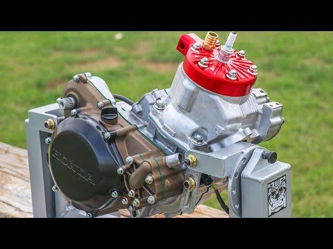 Building My CR250 Engine!
