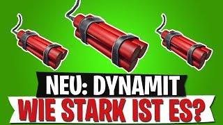 *NEU* DYNAMIT Wie STARK ist es wirklich? | Fortnite Battle Royale deutsch