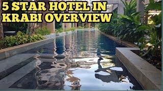 My 5 Star Hotel Overview in Krabi Thailand - DEVANA PLAZA AO NANG Krabi Exterior Interior